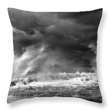 Neptune At His Best Throw Pillow by Arik Baltinester