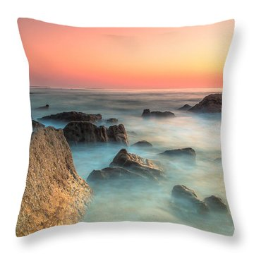Neptune Lands Throw Pillow by Edgar Laureano