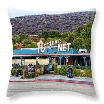 Neptune's Net Throw Pillow