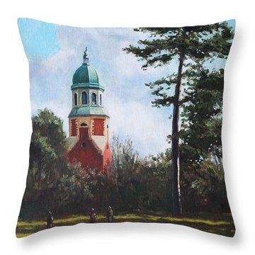 Netley Hospital Chapel At Weston Shore Throw Pillow