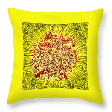 Throw Pillow featuring the photograph Networking by Kellice Swaggerty