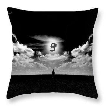 Never Alone Part I Throw Pillow