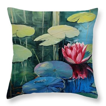 Never Ending Beauty Throw Pillow