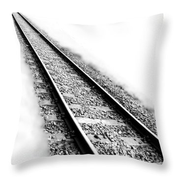 Never Ending Journey Throw Pillow