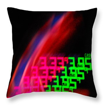 Never Ending Price Rise Throw Pillow