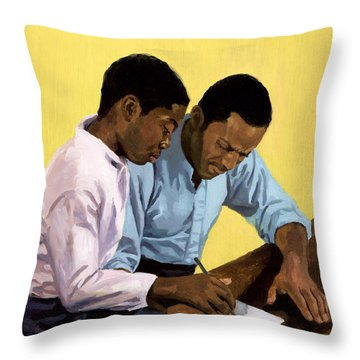 Never Too Old Throw Pillow by Colin Bootman