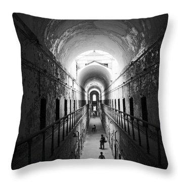 Neverending Corridor Throw Pillow
