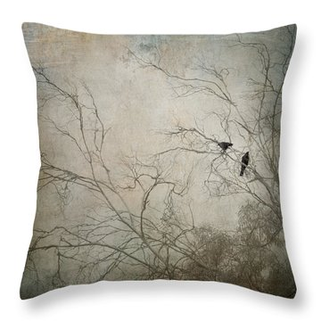Nevermore... Throw Pillow