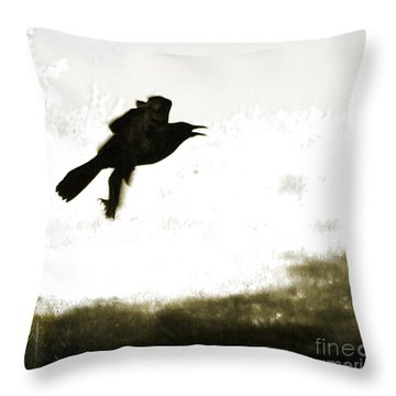 Nevermore Throw Pillow