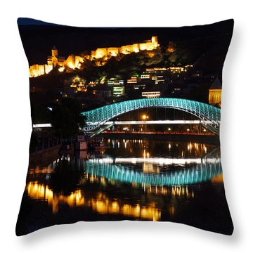 New And Old Throw Pillow