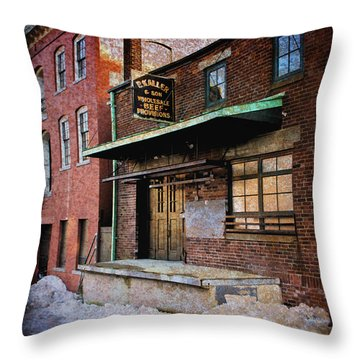 New Bedford Ma Throw Pillow