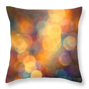New Beginning Throw Pillow by Jan Bickerton