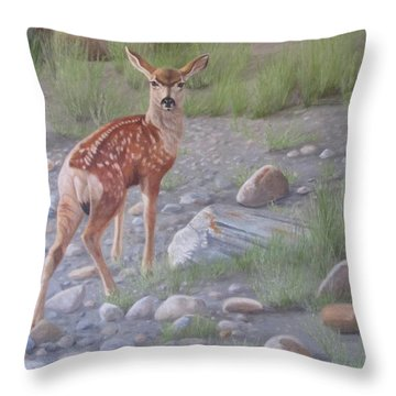 New Beginnings 2 Throw Pillow