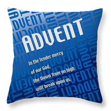 New Dawn Throw Pillow