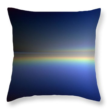 New Day Coming Throw Pillow