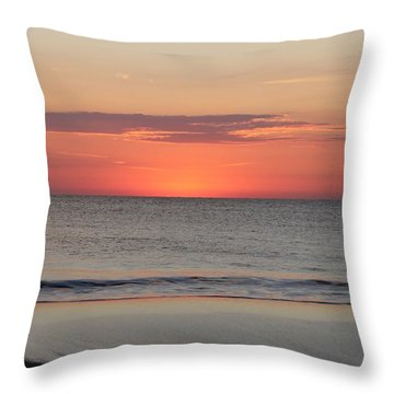Throw Pillow featuring the photograph New Day Coming by Robert Banach