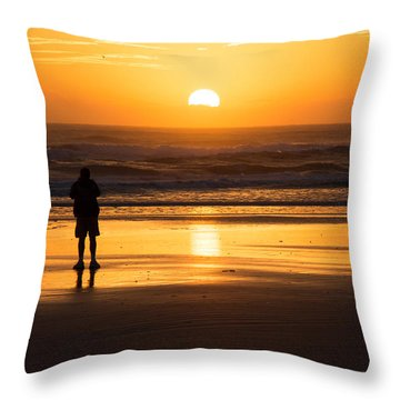 New Day Dawning Throw Pillow