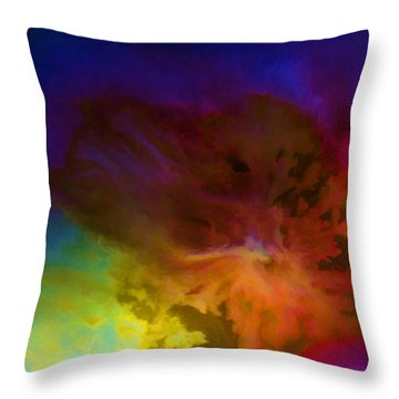 Throw Pillow featuring the painting New Day by Steven Richardson