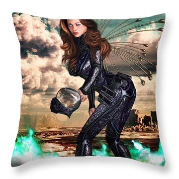 New Earth 3017 Throw Pillow