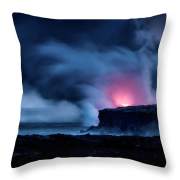 Throw Pillow featuring the photograph New Earth by Jim Thompson