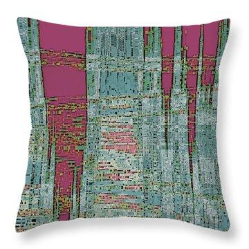 New Era Throw Pillow by Ben and Raisa Gertsberg