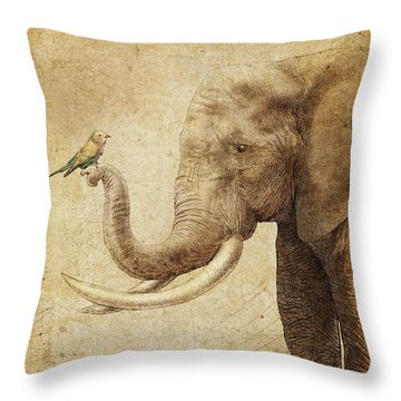 New Friend Throw Pillow