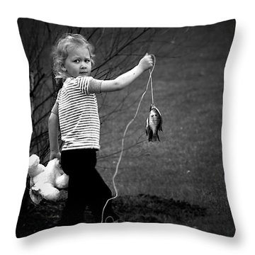 New Friends? Throw Pillow