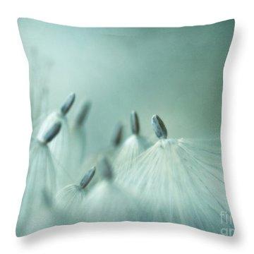 New Generation Throw Pillow by Priska Wettstein
