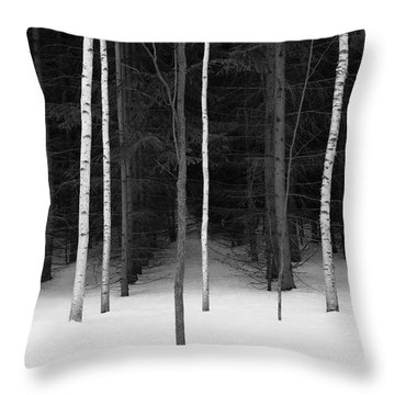 New Growth Throw Pillow