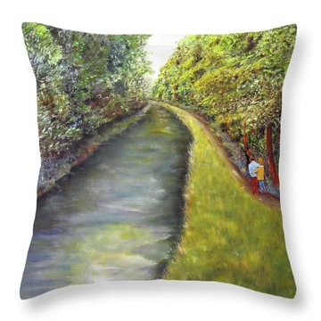 New Hope Bound Throw Pillow by Loretta Luglio