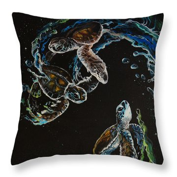 New Hope Throw Pillow by Marco Antonio Aguilar