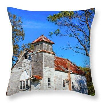 New Hope Mb Church Estill Ms Throw Pillow