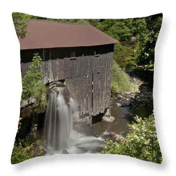 New Hope Mills  Throw Pillow by Richard Engelbrecht