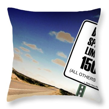 New Limits  Throw Pillow