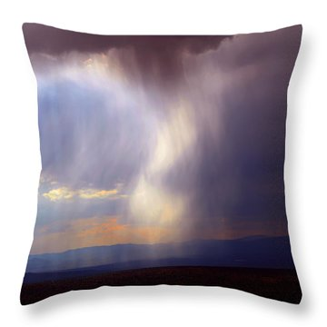 New Mexican Afternoon Throw Pillow by Susanne Still