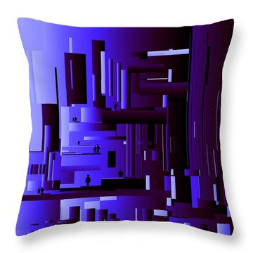 New Order2150 Throw Pillow by Andrew Penman