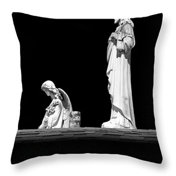 New Orleans Cemeteries Worth A Stop Throw Pillow by Christine Till