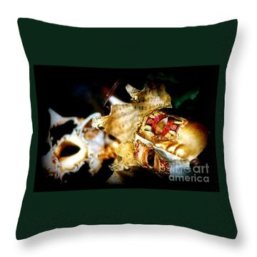 Throw Pillow featuring the photograph New Orleans Mardi Gras Mambo by Michael Hoard