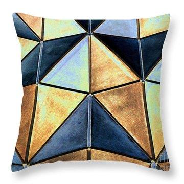 Pop Art Abstract Art Geometric Shapes Throw Pillow