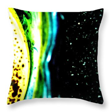 New Planet Throw Pillow