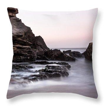 New Port Throw Pillow by Edgar Laureano