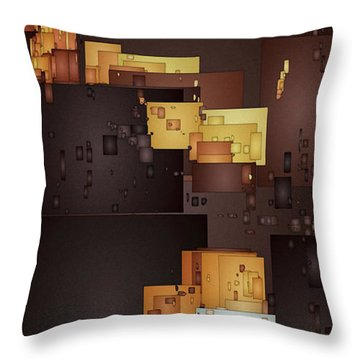 New Pueblo 1 Throw Pillow