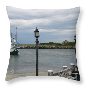 New Species Head Back Throw Pillow by Christiane Schulze Art And Photography