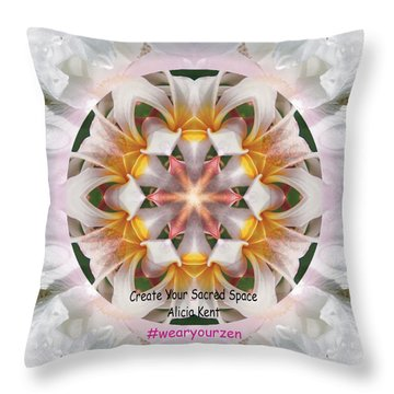 The Heart Knows Custom Throw Pillow
