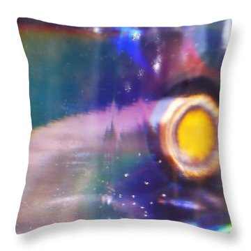 Throw Pillow featuring the photograph New World by Martin Howard