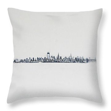 New Years Day Throw Pillow