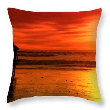 New Year's Love By Diana Sainz Throw Pillow