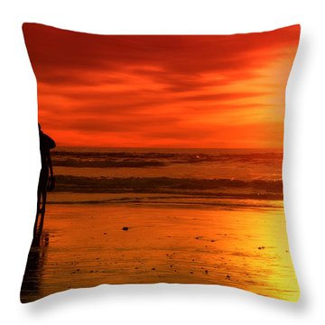 New Year's Love By Diana Sainz Throw Pillow