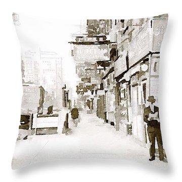 New York 1940 Throw Pillow