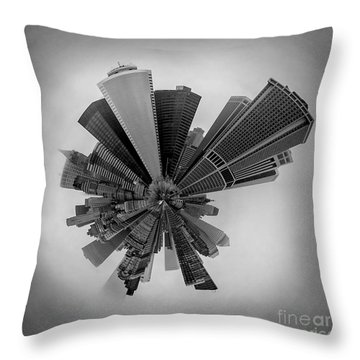 New York Circagraph 5 Throw Pillow